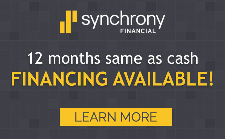Synchrony Financing Available